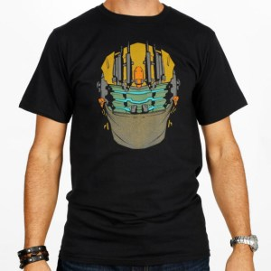 EA Store Dead Space 3 Cold Suit Helmet Tee