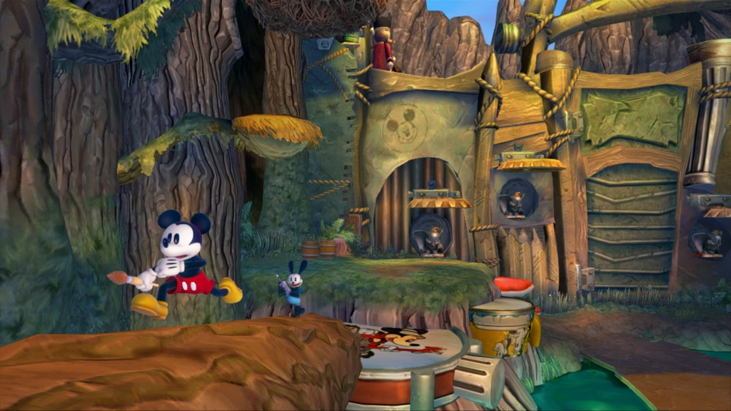Epic Mickey 2 - Fort Wasteland