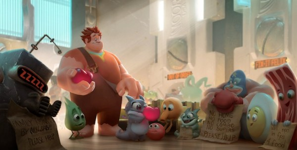 Wreck-It Ralph concept art 1
