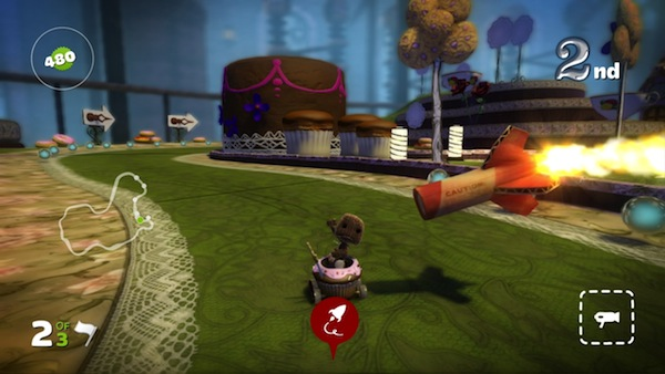 LittleBigPlanet Karting: Goodbye, Sackboy