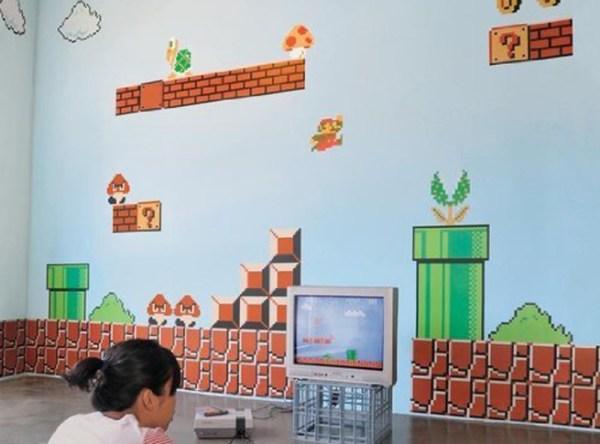 Mario wall stickers