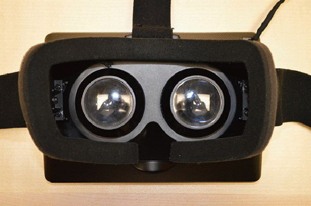 virtual reality headset viewer