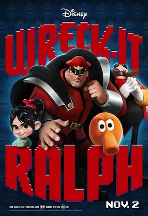 Wreck-It Ralph poster with M. Bison
