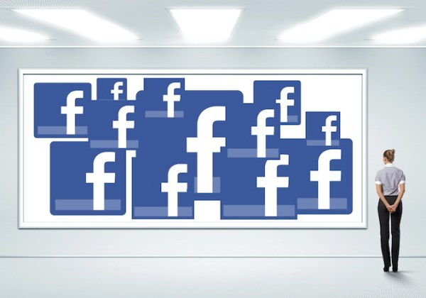 facebook advertising wall