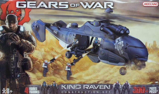 Gears of War Meccano King Raven set