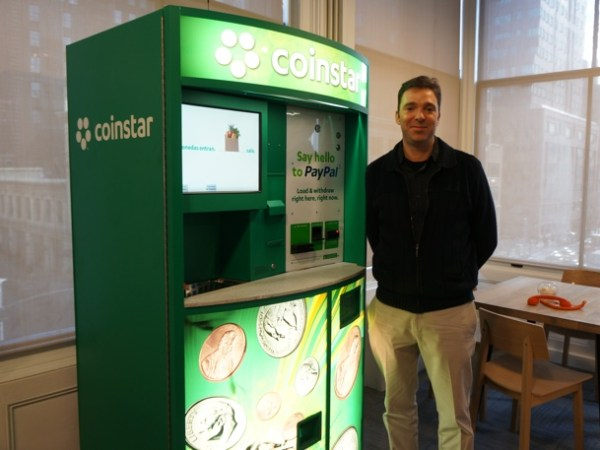 Paypal's Coinstar integration, Dan Schatt
