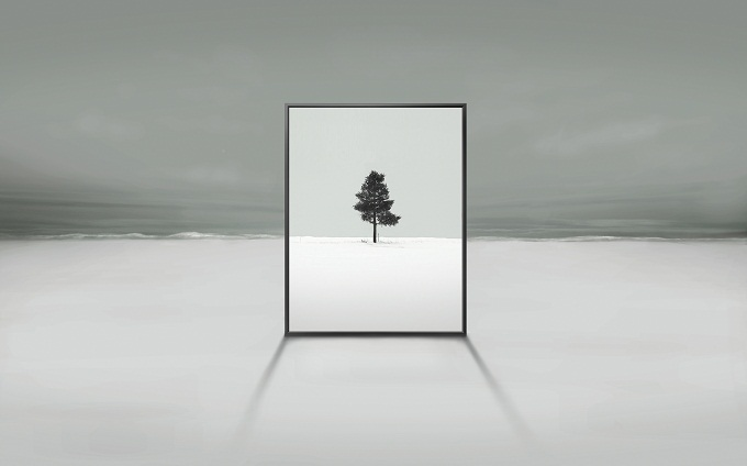 Samsung Transparent screen