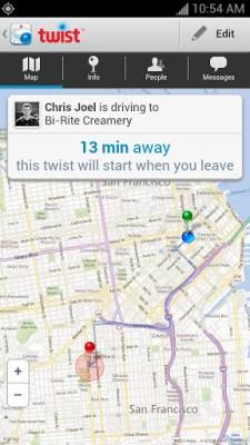 twist android screenshot