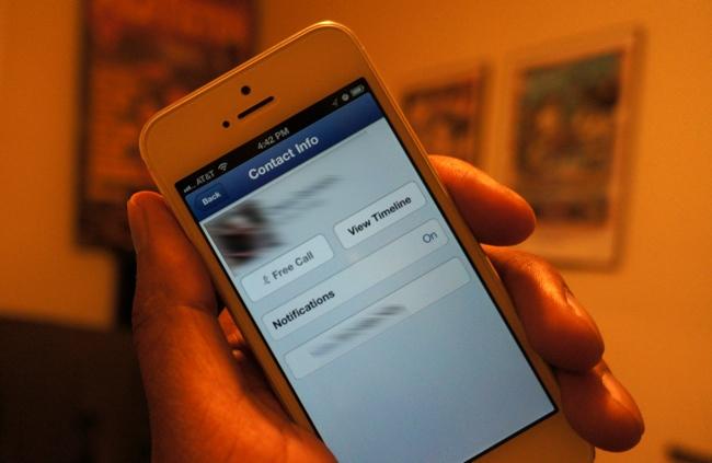 facebook messenger voice call