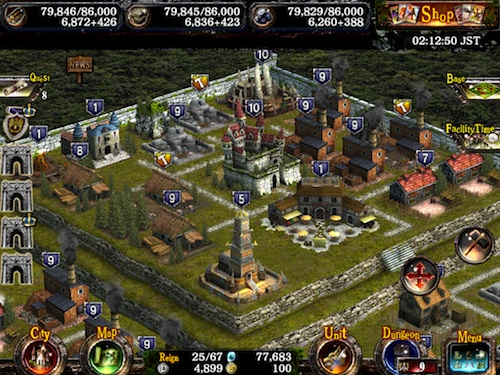 Kingdom Conquest 2 building your kingdom