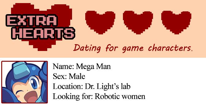 Extra Hearts: Mega Man profile