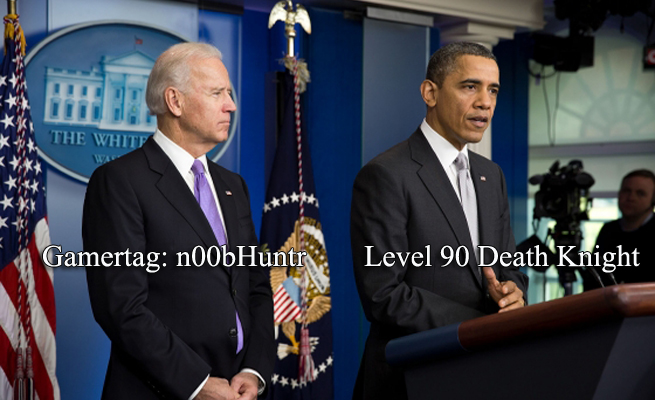 Violence in video games Obama Biden