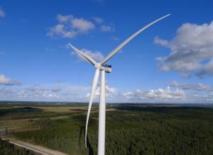 A Siemens turbine