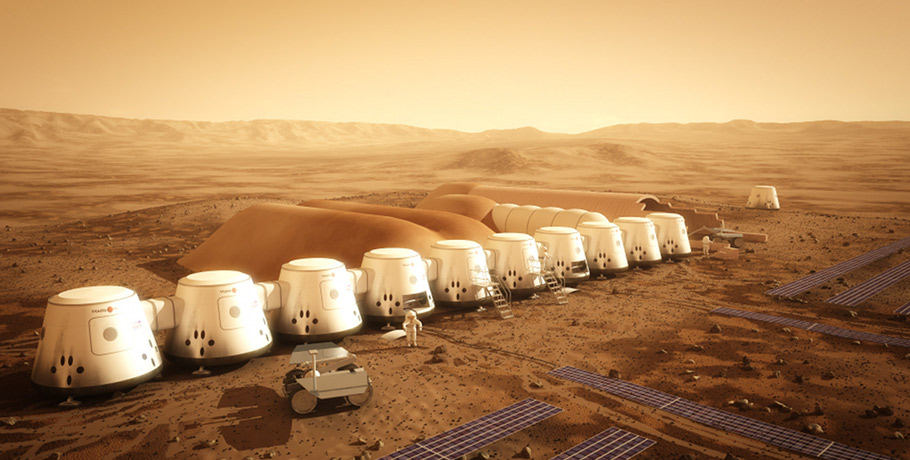 Mars One mission renderings