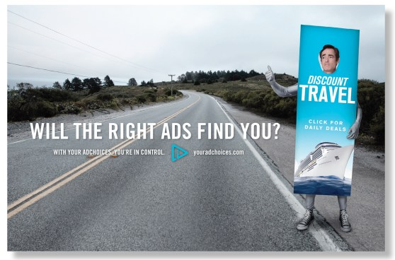 The ad industry's AdChoice advertisement