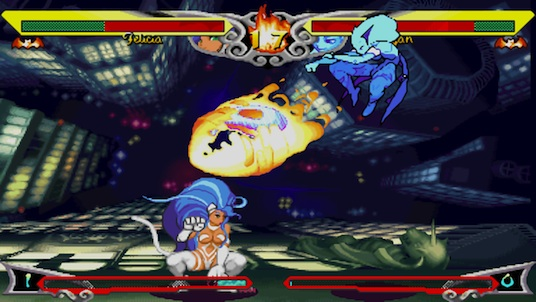 Darkstalkers Resurrection: Darkstalkers 3's Felicia