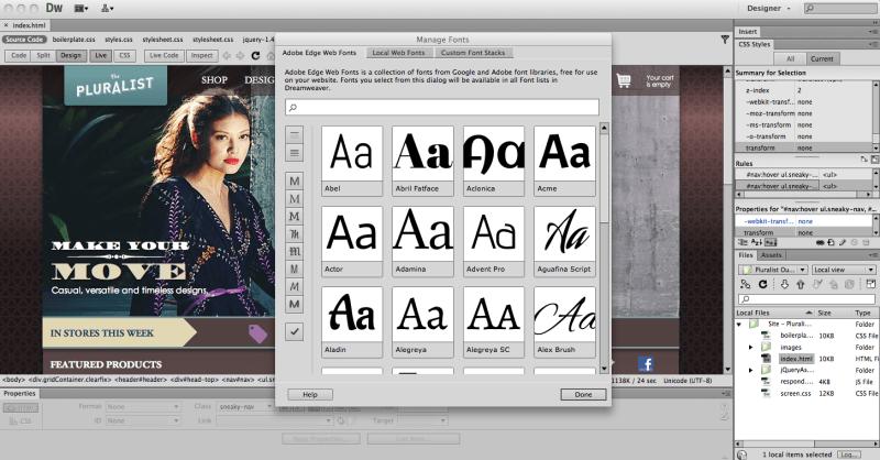 Adobe Creative Cloud updates