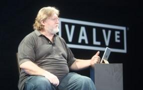 Valve chief Gabe Newell.