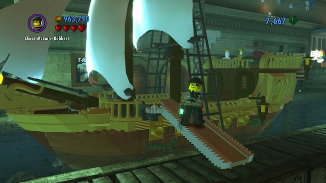 Lego City: Undercover robber suit