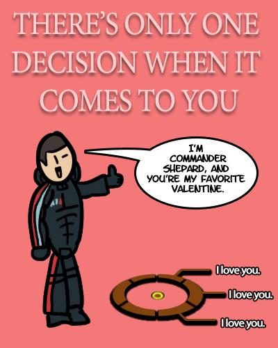Mass Effect Valentine