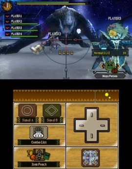 Monster Hunter 3 Ultimate: Night fight (3DS)