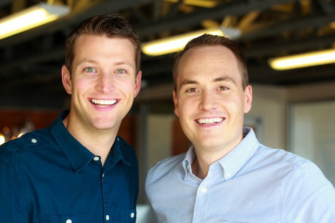 Outbox cofounders Evan Baehr and Will Davis.