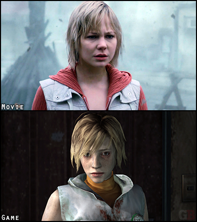Heather Mason is the adoptive daughter of Harry Mason and the protagonist of Silent Hill: Revelation and Silent Hill 3. Her physical appearance and outfit are almost identical although she shows more skin in the game.