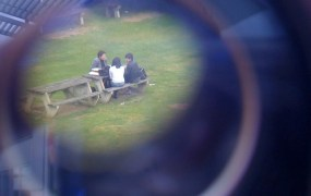 Spying on people