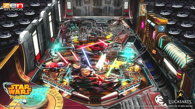 Star Wars Pinball Clone Wars 1