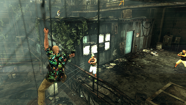 Max Payne 3 hook shot