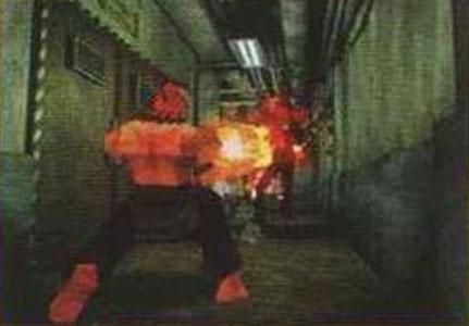 Akuma in Resident Evil 2