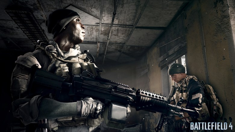 Characters from Battlefield 4. Irish and Pac.