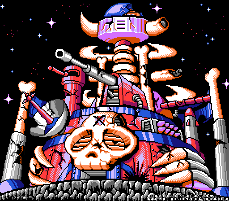 Dr. Wily's castle ... what kind of doctor can afford a castle?