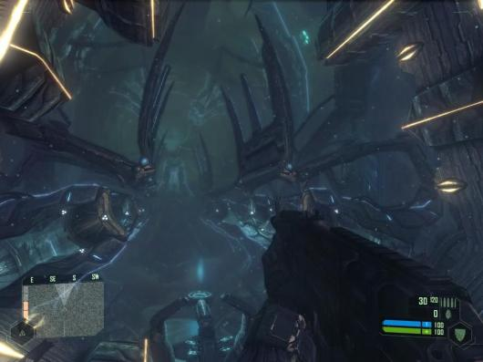 Crysis alien ship
