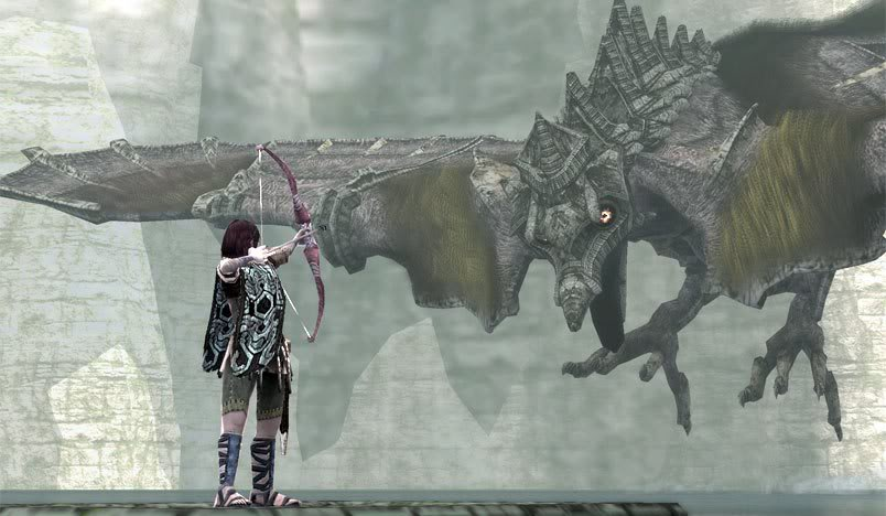 Shadow of the Colossus Avion