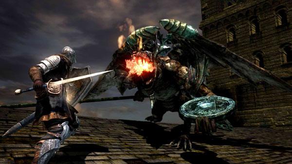 Dark Souls boss battle