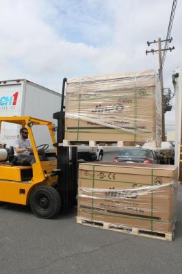 60 solar panels arrive for Rebuilding Together Peninsula