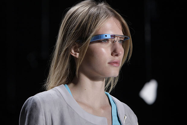 Google Glass on the runway