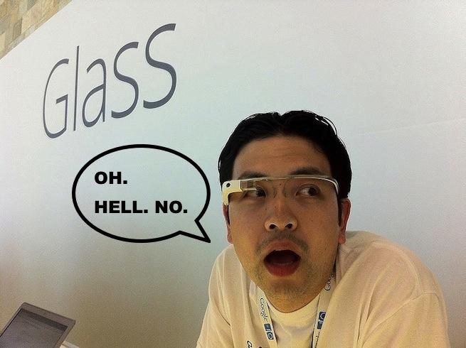 google glass shock