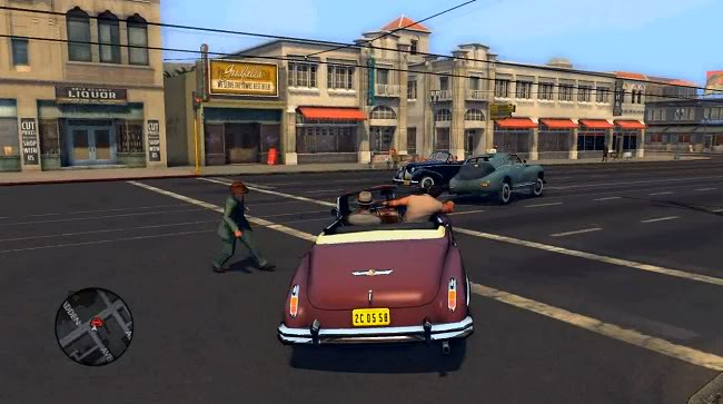LA Noire Car chase
