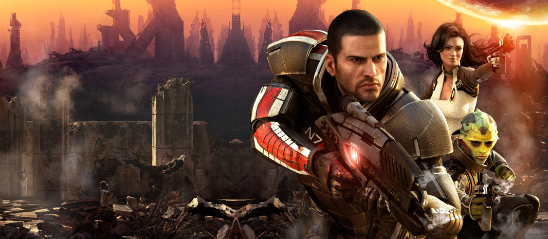 You can play Mass Effect 2 on your PlayStation 3 if you've somehow managed to avoid doing that up to this point.