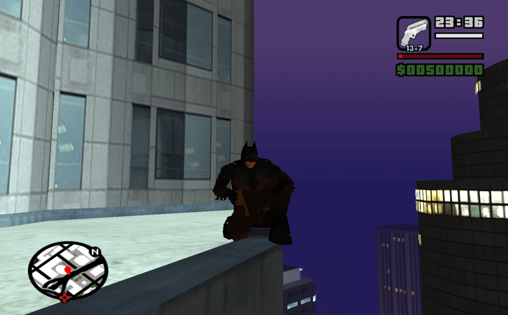 Grand Theft Auto: The Dark Knight Begins