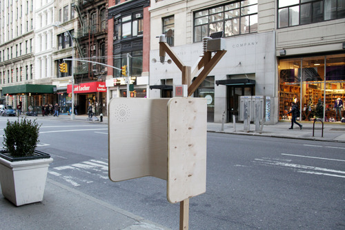 Windchimes: NYC's Reinvent Payphones best Community Impact award winner