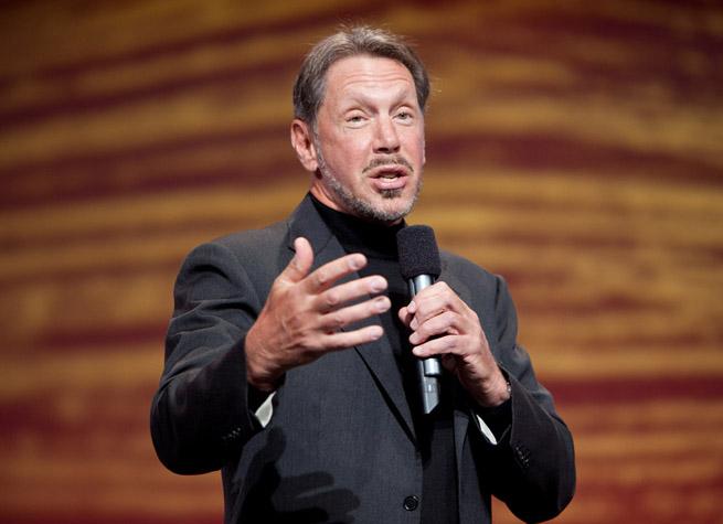 Oracle founder Larry Ellison