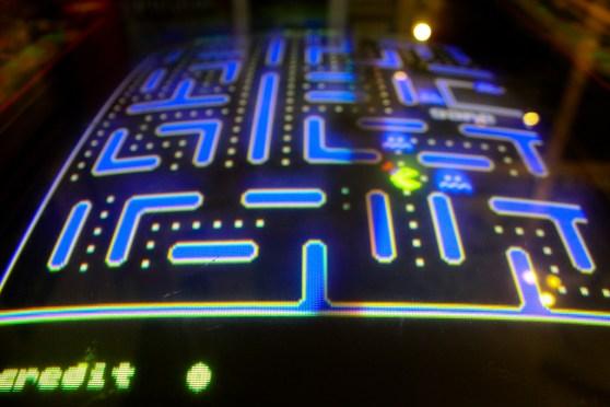Pacman arcade console