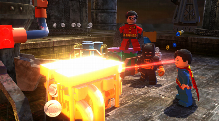 Lego Batman fighting