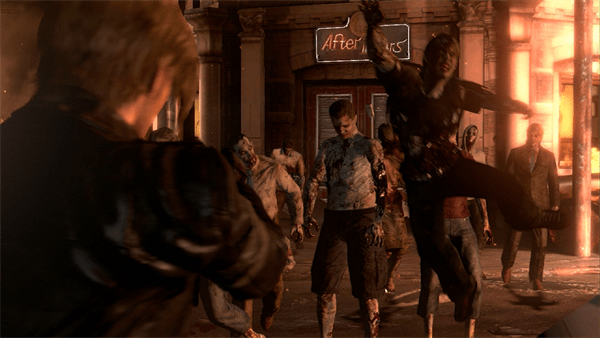 Resident Evil 6 Features Running, Jumping, Shooting Zombies
