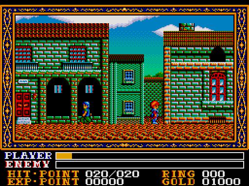 Ys III on the MSX2