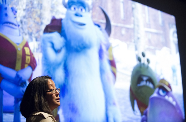 christine waggoner on pixar physics