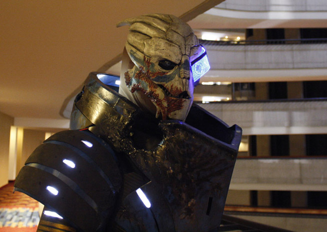 Robert Rodgers as Garrus Vakarian (Mass Effect 3)